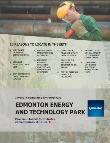 Edmonton Energy and Technology Park Highlights